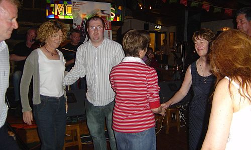 Dancing At Monroe's Pub